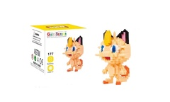 Meowth Mini Building Block