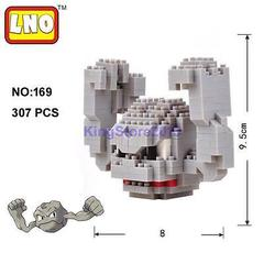 Geodude Mini Building Blocks