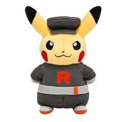 Disguised Pikachu Team Rocket Plush