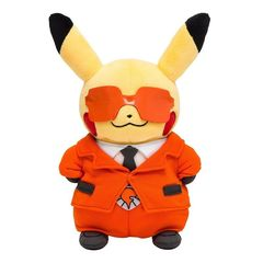 Disguised Pikachu Team Flare Plush