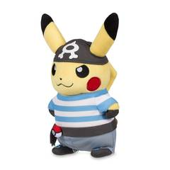 Disguised Pikachu Team Aqua Plush