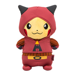Disguised Pikachu Team Magma Plush