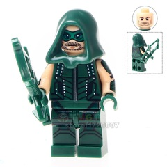 Green Arrow with Hood