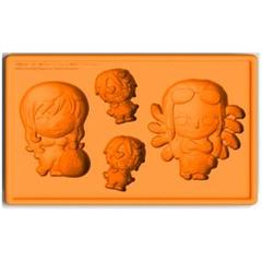 Silicone Ice Tray: Nami & Robin with Sanji (New World Version)