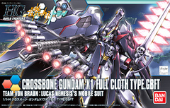 Crossbone Gundam X1 Full Cloth Type.GBFT
