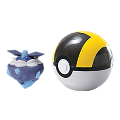 TOMY Pokemon - Carbink + Ultra Ball