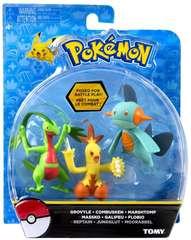 TOMY Pokemon Trio - Grovyle / Combusken / Marshtomp