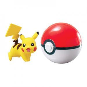 TOMY Pokemon - Pikachu + Poké Ball