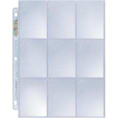 Ultra Pro 9-Pocket - Pack de 9 Pages