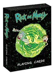 Rick and Morty Playing Card