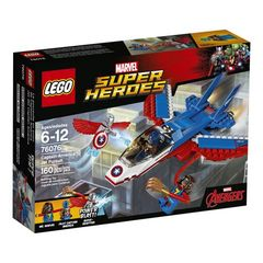 Lego Super Heroes: Captain America Jet Pursuit 76076