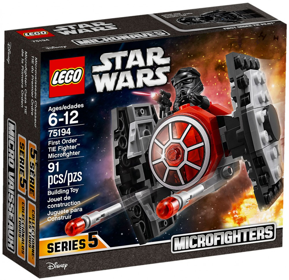 Star Order Tie Lego WarsMicro Fighter 75194 Fighters First OTliwXZukP