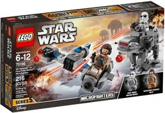 Lego Star Wars: Micro Fighters - Ski Speeder VS. First Order Walker 75195