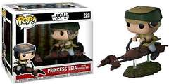 #228 POP! Star Wars - Princess Leia (with speeder bike)