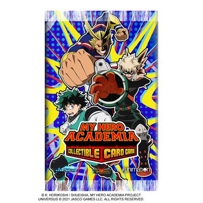 My Hero Academia Collectible CCG 1st Edition Booster Pack