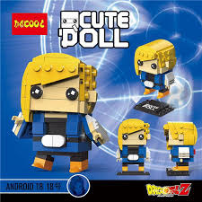 Decool Mini Blocks: Android 18
