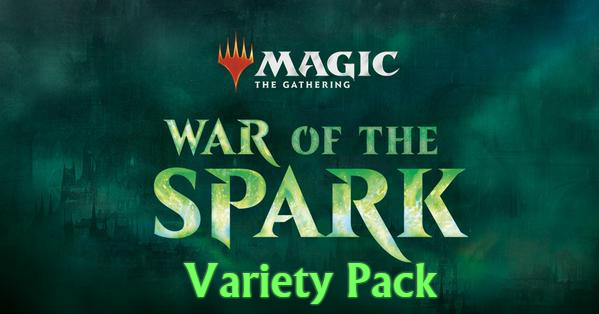 War of the Spark Variety Pack (1x Box, 1x each Planeswalker Deck, 1x Bundle)