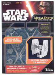 Star Wars Metal Earth: Special Forces Tie Fighter