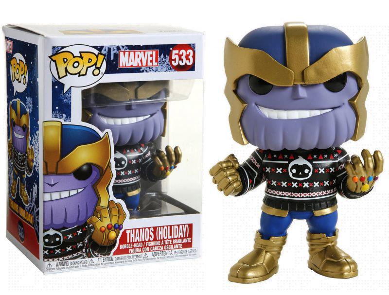 POP! Marvel 533: Thanos (Holiday)