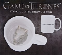 Game Of Thrones - Sculpted Direwolf Mug