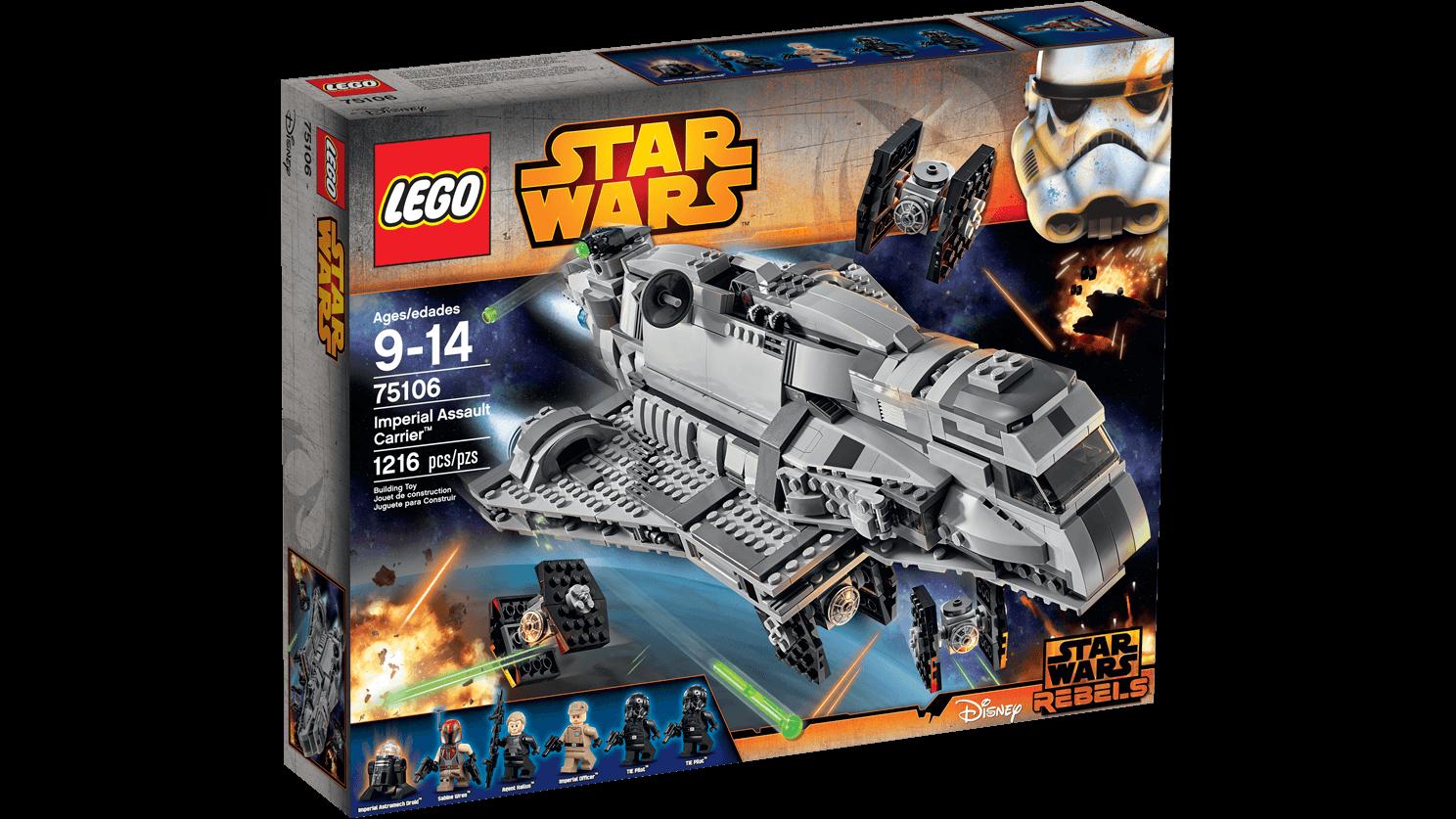 Imperial Assault Carrier 75106