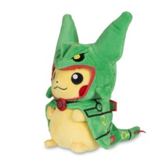 Pikachu Disguised as Rayquaza