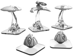Monsterpocalypse: Unit Expansion - Saucers/Power Pods/Hunter