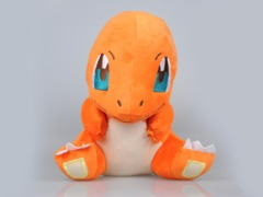 Charmander Sitting blue eyes large 30 cm