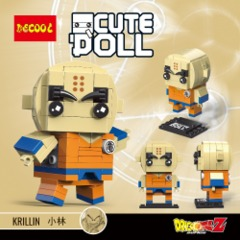 Decool Mini Blocks: Krillin