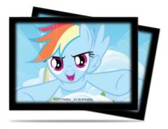 My Little Pony Deck Protector Sleeves - Rainbow Dash 65ct