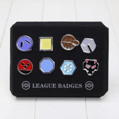 Pokemon Pin - Gym Badges Box (Gen 2)