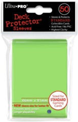 50ct Lime Green Standard Deck Protectors
