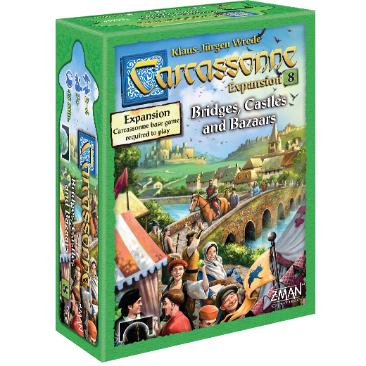 Carcassonne Ext8: Bridges, Castles & Bazaars