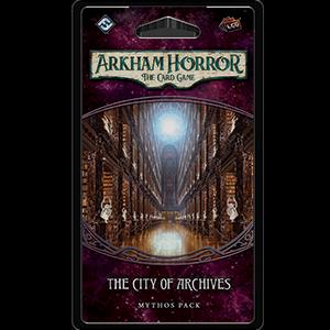 Arkham Horror LCG - The City of Archives Mythos Pack