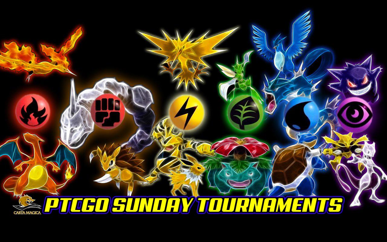 Pokemon PTCGO Sunday 1:00 PM Tournament February 28, 2021