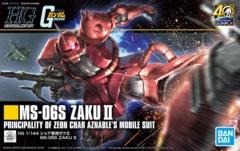 HG 1/144 MS-06R-2 Zaku II Principality of ZEON Char Aznables