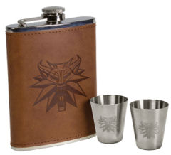 The Witcher: Stainless Steel Deluxe Flask Set