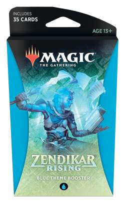Zendikar Rising Theme Booster - Blue