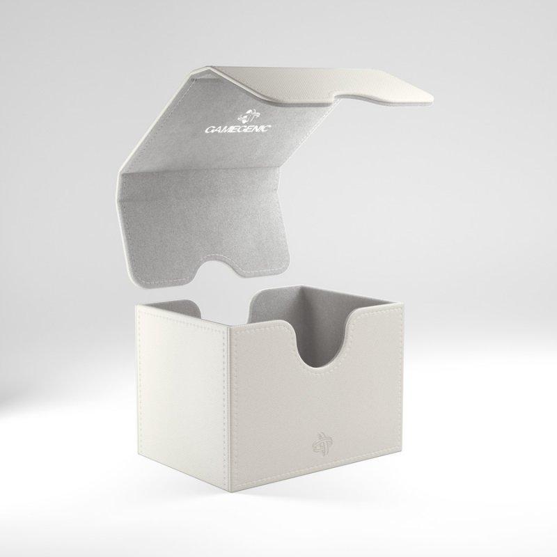 Gamegenic: Deck Box - Sidekick 100+ White (Convertible)