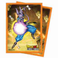Ultra Pro - Dragon Ball Super: Standard Size Deck Protector 65Ct - Beerus