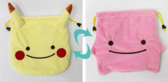 Ditto Pikachu Pouch (Switch)