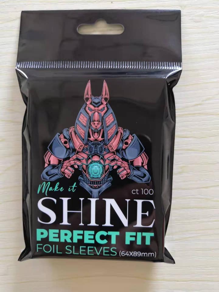 Make it Shine: Perfect Fit Foil Sleeves (64x89mm) (100ct)