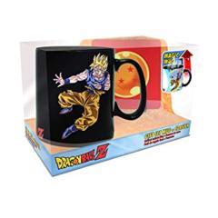 Dragonball: Mug + Coaster Gift Set - Heat Change SS Goku