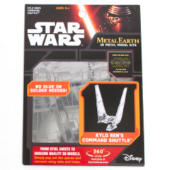 Star Wars Metal Earth: Kylo Ren's Command Shuttle