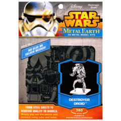Star Wars Metal Earth: Destroyer Droid