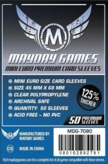 Mini Euro Card Sleeves (45x68mm) (Pack of 50)