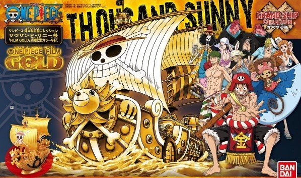 One Piece: Grand Ship Collection - Thousand Sunny (GOLD)
