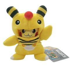 Pikachu Disguise/Ampharos Plush ~15cm