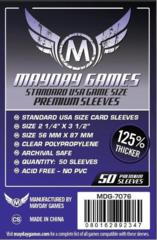 Standard USA Card Sleeves (56x87mm) Premium (Pack of 50)