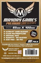 Card Sleeves - Magnum Ultra-Fit (65x100mm) (Pack of 80)